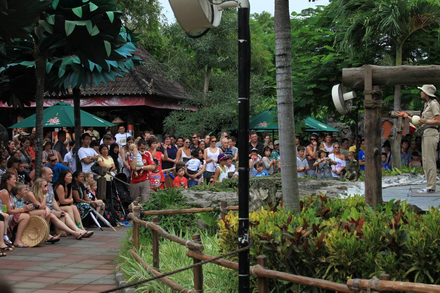 Mara River Safari Lodge Animal Show at Bali Safari