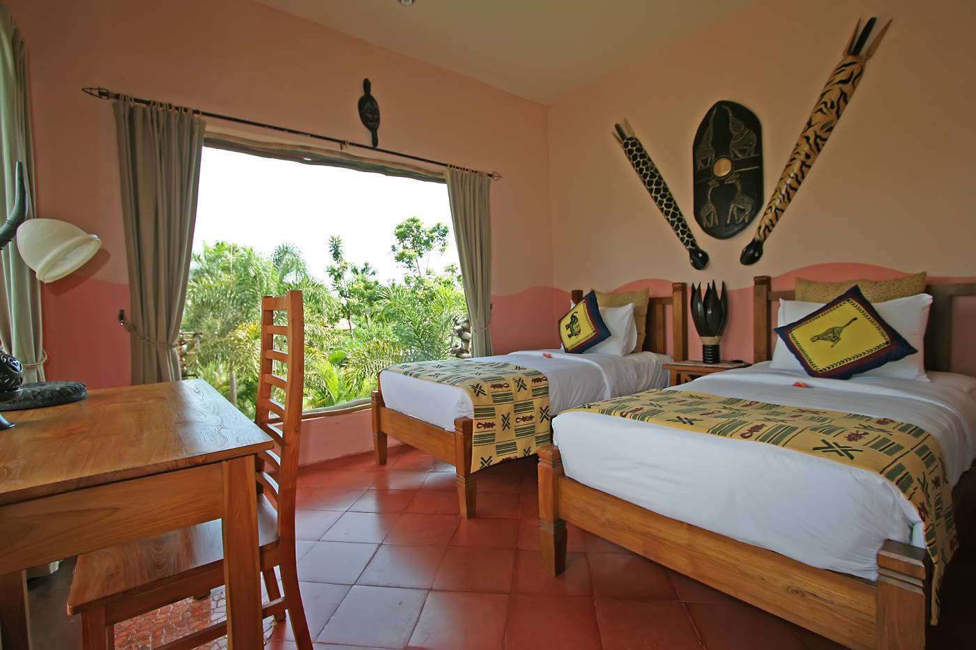 Mara River Safari Lodge Tembo Twin Room