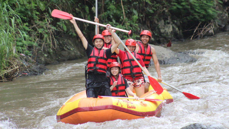 ayung rafting - bali activities