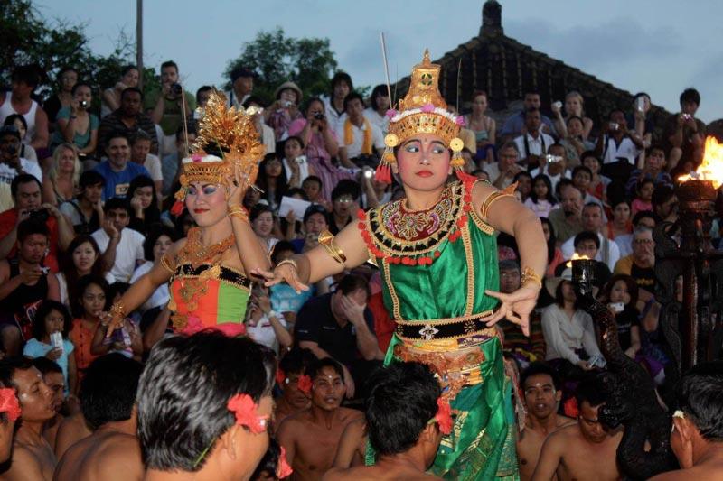 balinese village - kecak dance