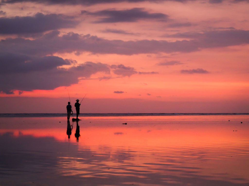 scenic beach bali - honeymoon in bali