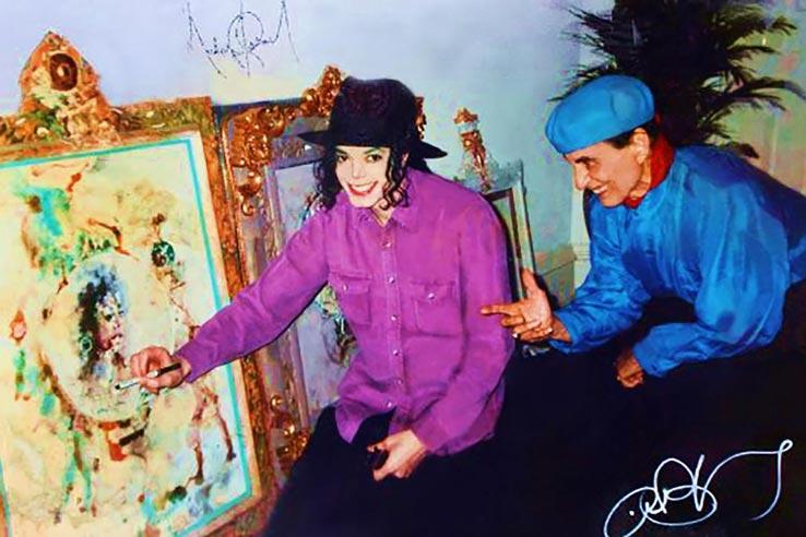 The History of The Blanco Renaissance Museum, Antonio Blanco with Michael Jackson