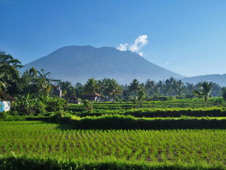 The Mighty Mount Agung of Bali