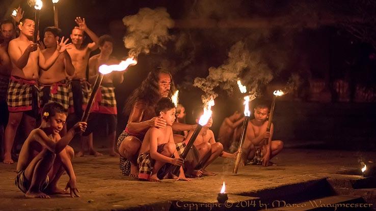 Full Moon Ceremonies in Bali Kecak Rina