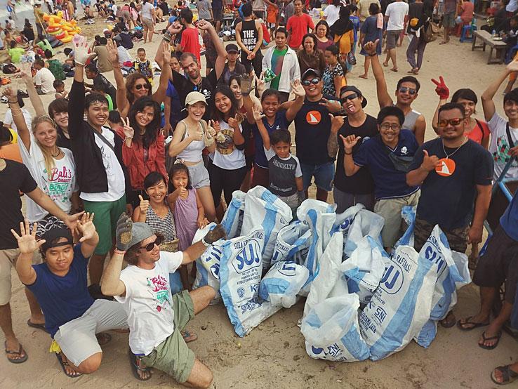 Bali Beaches Cleanup