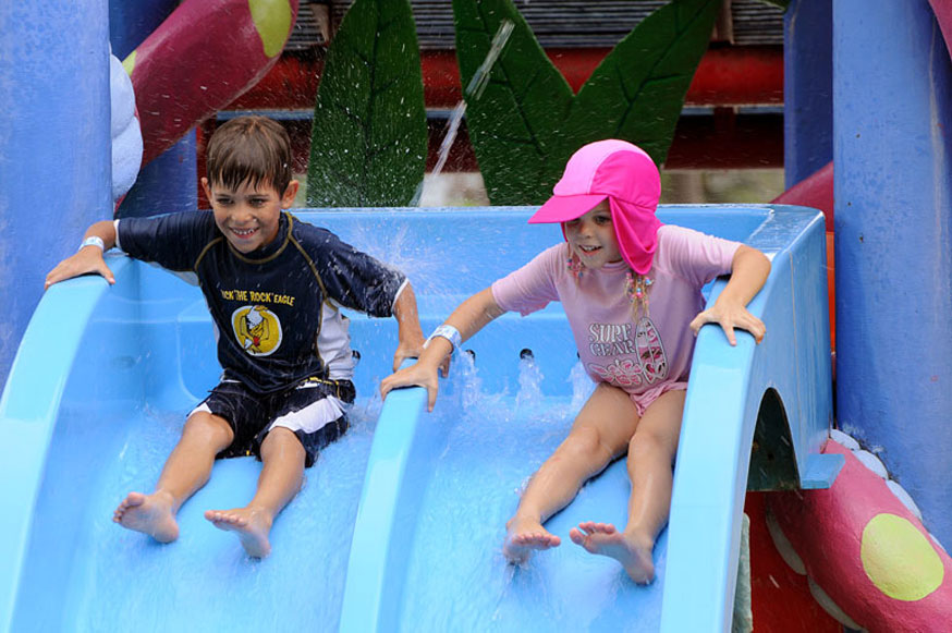water park and fun zone