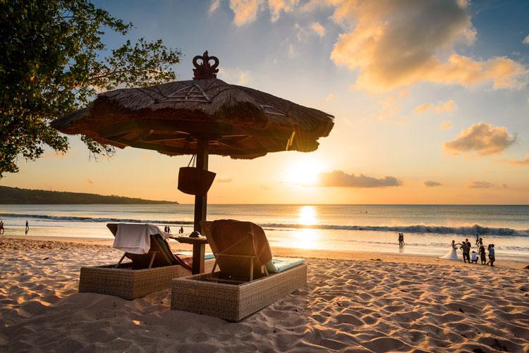 Jimbaran Beach Sunset Point