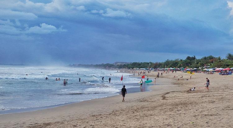 Kuta Beach Jogging Track