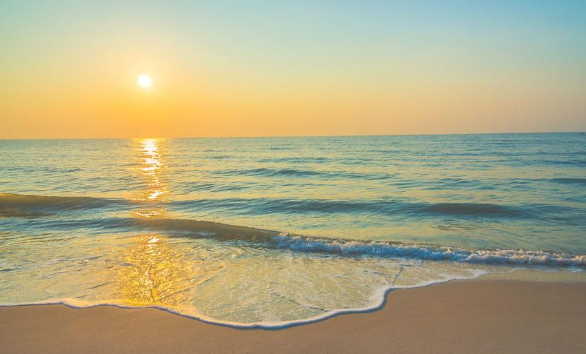 Sunrise in Beach